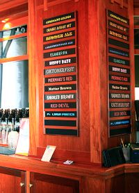 Beer Board Coronado Brewing Company