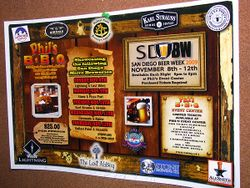 San Diego Beer Week Poster