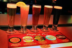 Flight of Five at PB Ale House